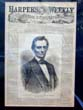 click to view detailed description of Abraham Lincoln's First Cover Published by HARPER'S WEEKLY May 26, 1860