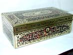 click to view detailed description of An Exceptionally Fine 19th century Boule Box