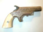 click to view detailed description of A Southerner (Brown Mfg. Co.) .41 cal. Single Shot DERINGER circa 1867