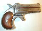 click to view detailed description of A RARE Remington Double Deringer .41 cal. 1st Model--2nd variant circa 1867