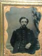 click to view detailed description of A Civil War Photograph of a Union Army Officer circa 1863